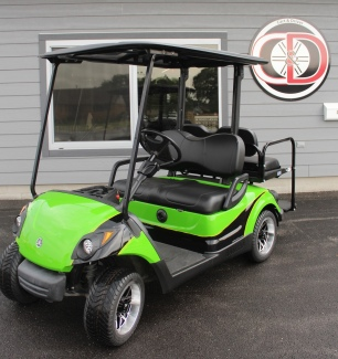 2013 Yamaha Drive AC monster green