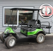"2013 Yamaha Drive EFI (Green) Street Legal Kit, 4"" Lift Kit"