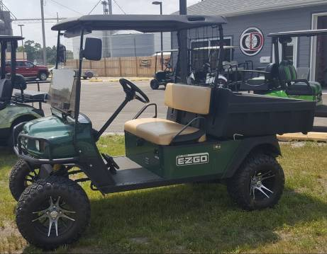 This 2010 EZGO was a trade-in, and is in GREAT condition!